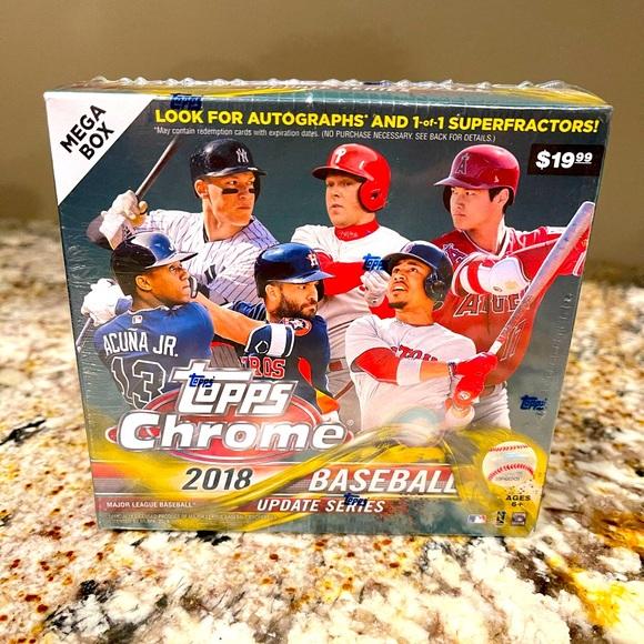 2018 Topps Chrome Update Baseball Megabox.